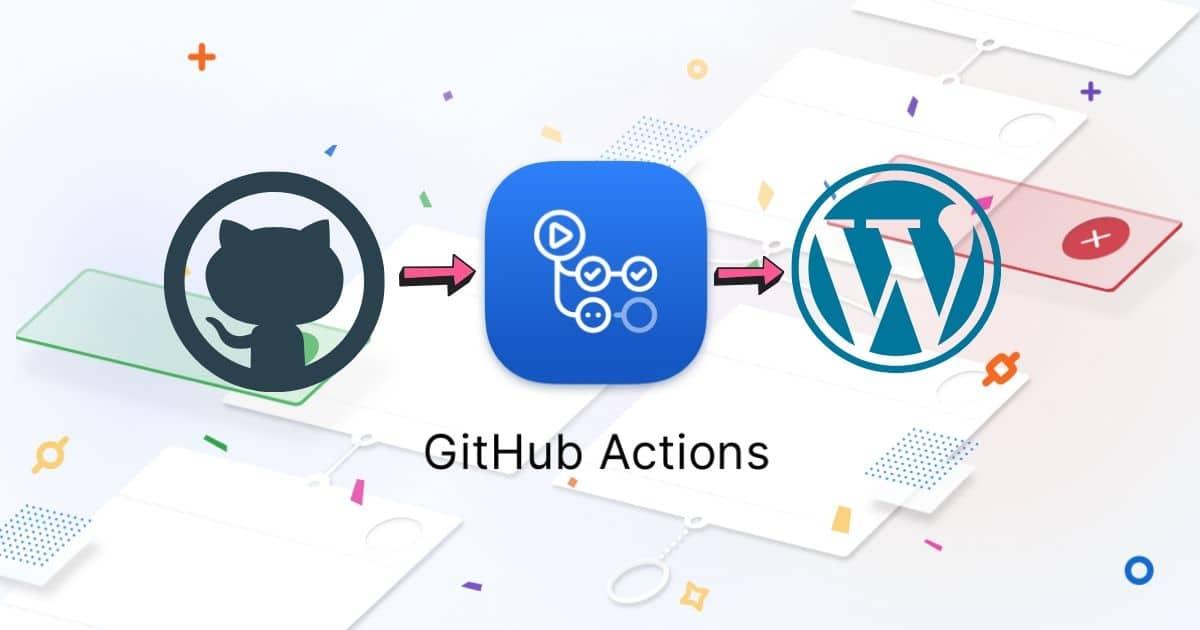 github actions wordpress